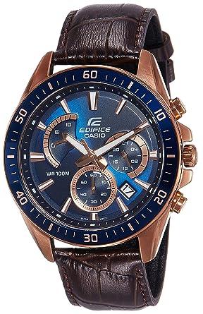 104b4718c Casio Edifice Analog Blue Dial Men's Watch - EFR-552GL-2AVUDF (EX358)