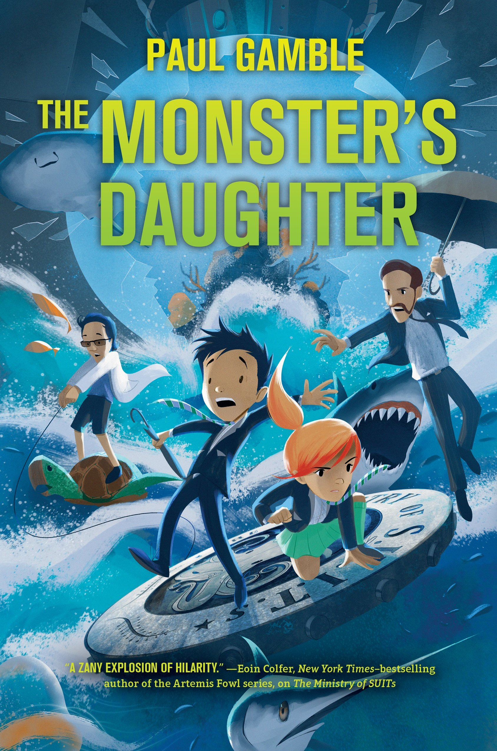 The Monster's Daughter: Book 2 of the Ministry of SUITs ebook