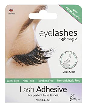 842365ce438 Image Unavailable. Image not available for. Colour: Invogue Eye Lash  Adhesive 7ml