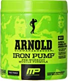 Muscle Pharm Arnold Schwarzenegger Series Iron Pump Pre-Workout Formula, Fruit Punch, 30 servings