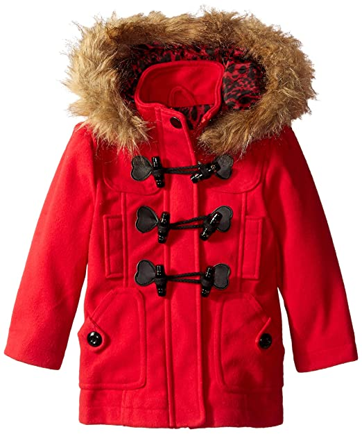 durable in use discount up to 60% cheap prices Urban Republic Girls' Little Wool Toggle Closure Coat