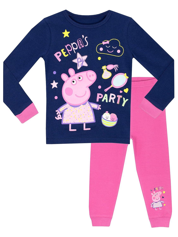 Peppa Pig Girls' Peppa's Party Pajamas