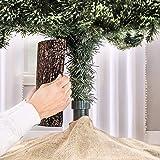 The Christmas Tree Hugger - Christmas Tree Skirt Accessory, Christmas Tree Collar, Christmas Tree Ring, Tree Box…