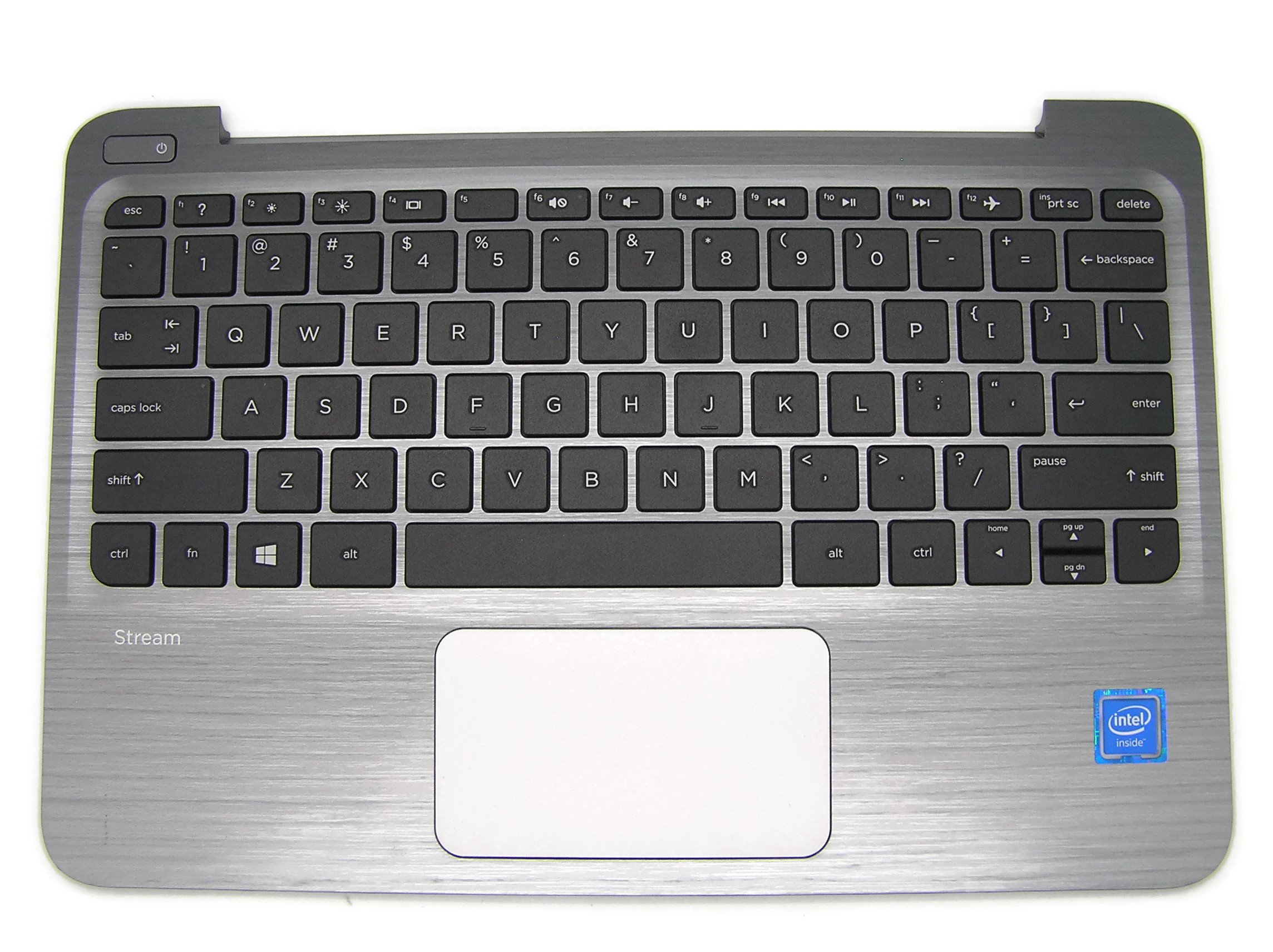 New Genuine HP Stream 11 Pro G2 Series Palmrest TouchPad With Keyboard 830763 830763-001 832490-001
