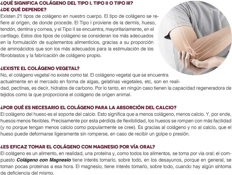 Ana Maria Lajusticia - Colágeno con magnesio – 350 gramos (sabor neutro) articulaciones fuertes y piel tersa. Regenerador de tejidos con colágeno ...