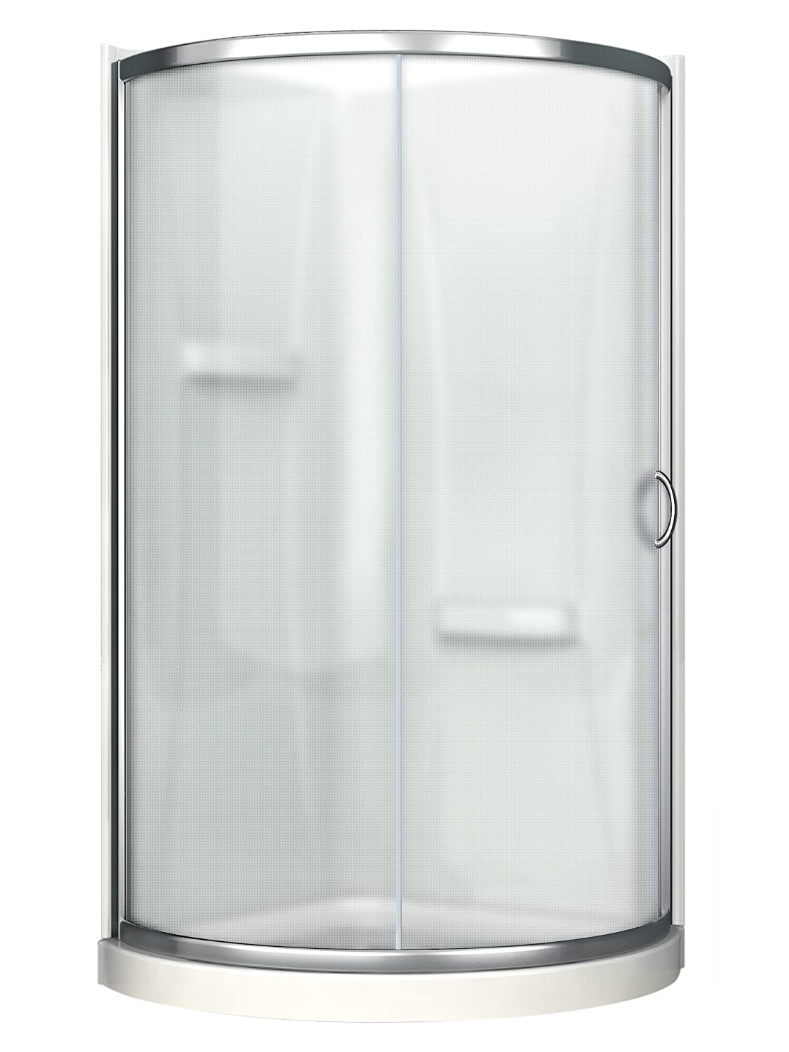 Ove Decors Breeze 31 Shower Kit Paris Glass with Walls and Base ...