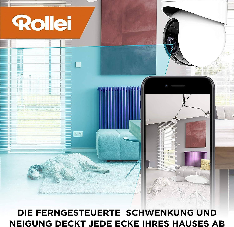 Rollei SafetyCam 100 WLAN HD Uuml berwachungskamera Mit