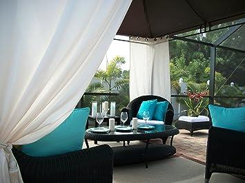 Amazon patio pizazz beautiful indoor outdoor patio drapes