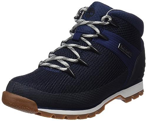 26bac0029b1 Timberland Men's Euro Sprint Fabric Chukka Boots, Blue (Navy 19), ...