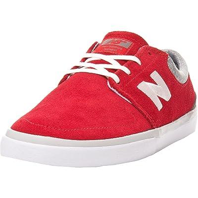 New Balance Numeric , Chaussures de skateboard pour homme Rouge Rouge/gris