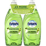 Dawn Ultra Antibacterial Dishwashing Liquid, Apple Blossom, 19.4 Fl Oz, 2 Count