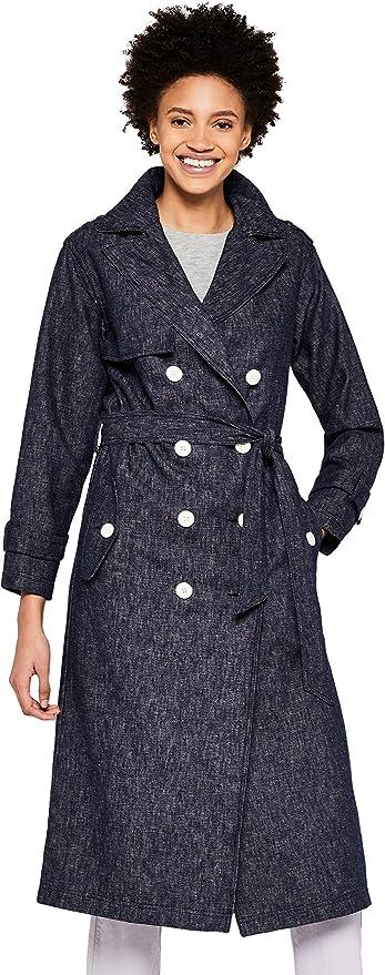 find Damen Trenchcoat mit G/ürtel Marke