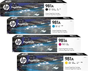 HP 981A Original PageWide Cartridge 4-Color Set