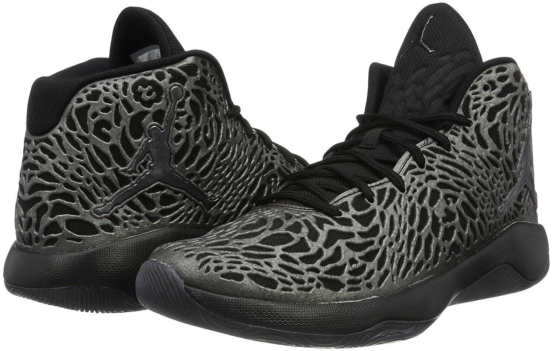 new arrival 592a5 c4565 Amazon.com   Jordan Ultra.Fly Mens Basketball-Shoes (9.5 D(M) US, Black Dark  Grey Metallic Hematite)   Shoes