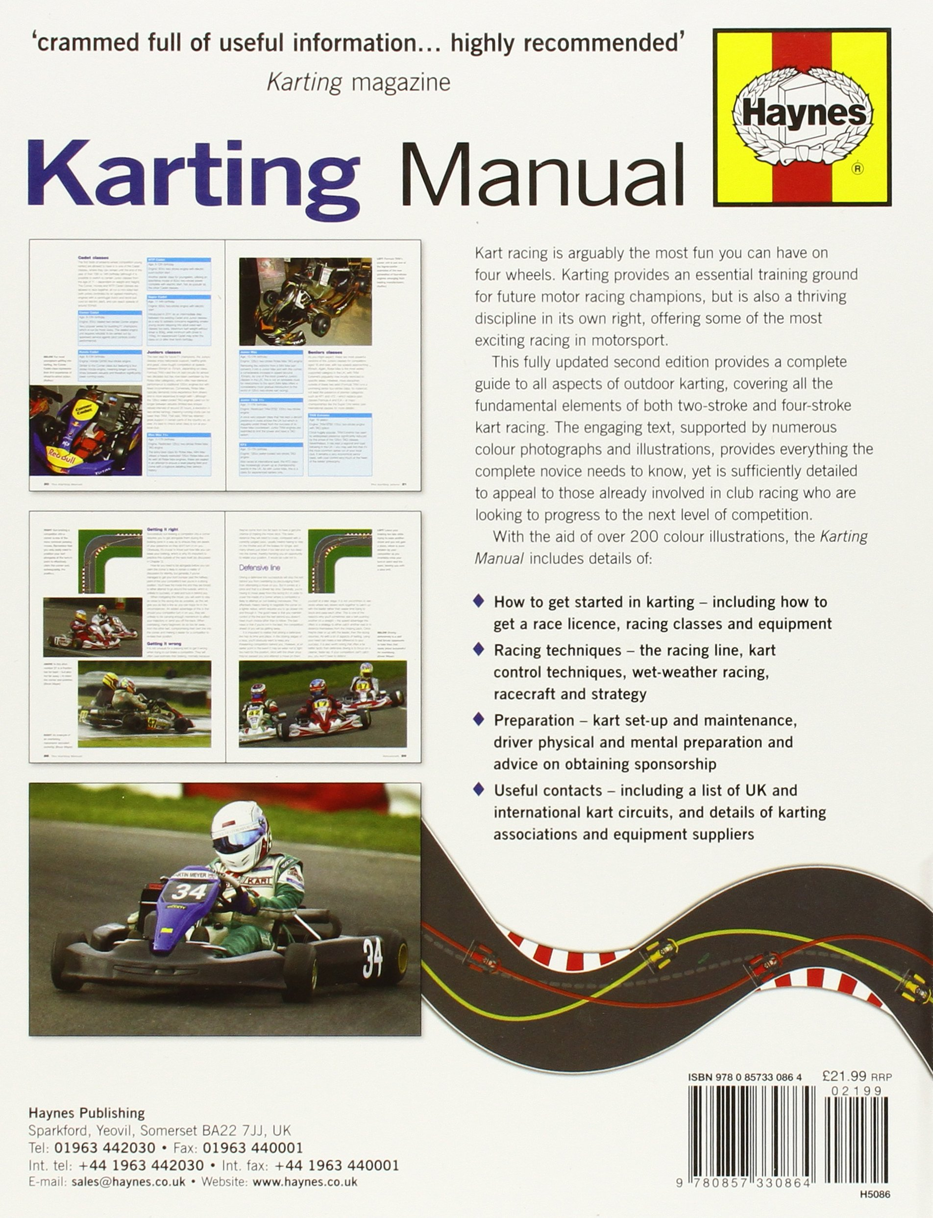 The Karting Manual: The Complete Beginner\'s Guide to Competitive ...