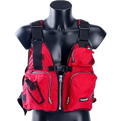 Amarine Made Boat Buoyancy Aid Sailing Kayak Fishing Life Jacket Vest