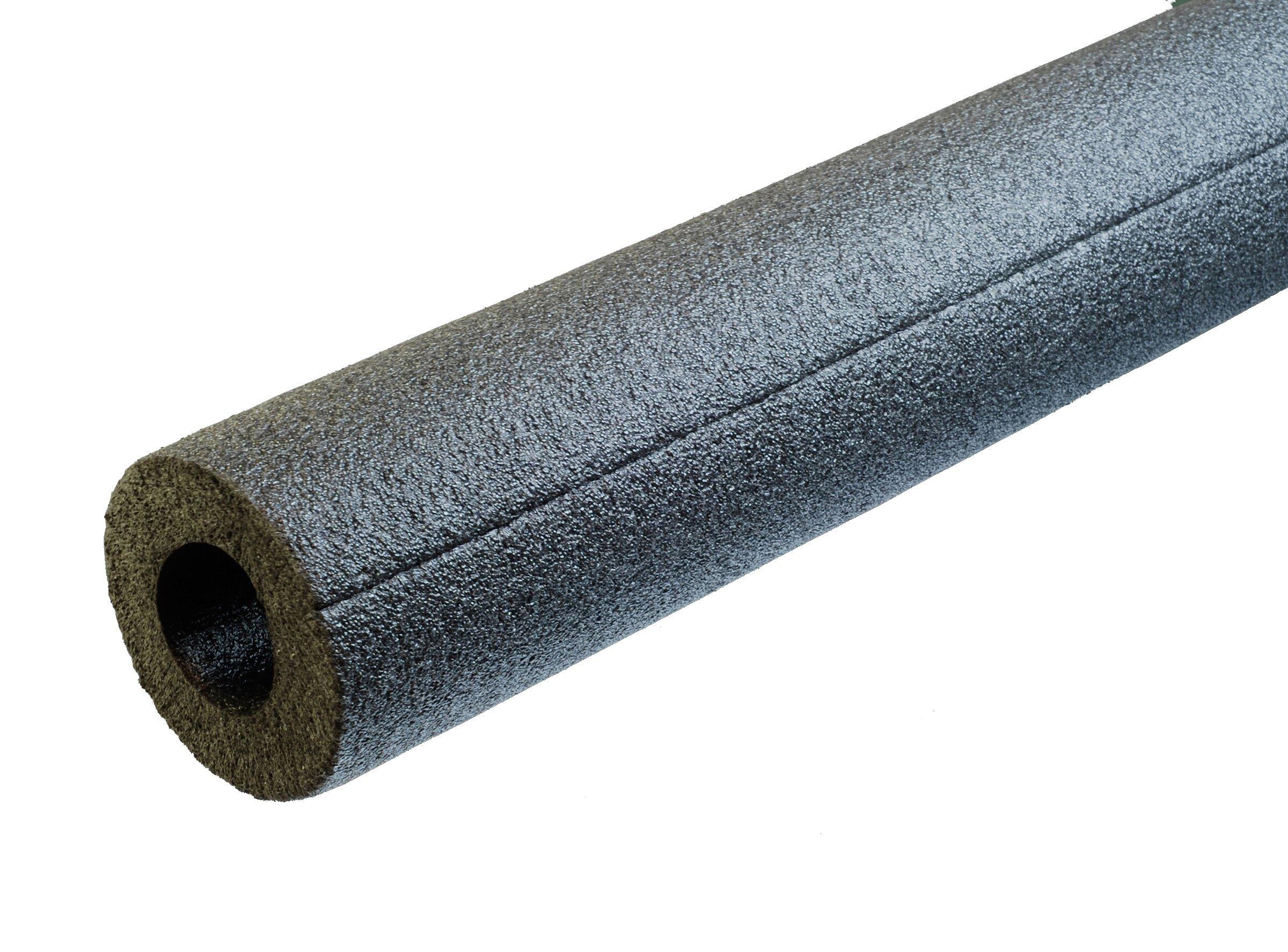 Tubolit DGT07834S 7/8'' x 3/4'' Semi Slit Foam Pipe Insulation - 150 Lineal Feet/Carton, Polyethylene by Tubolit