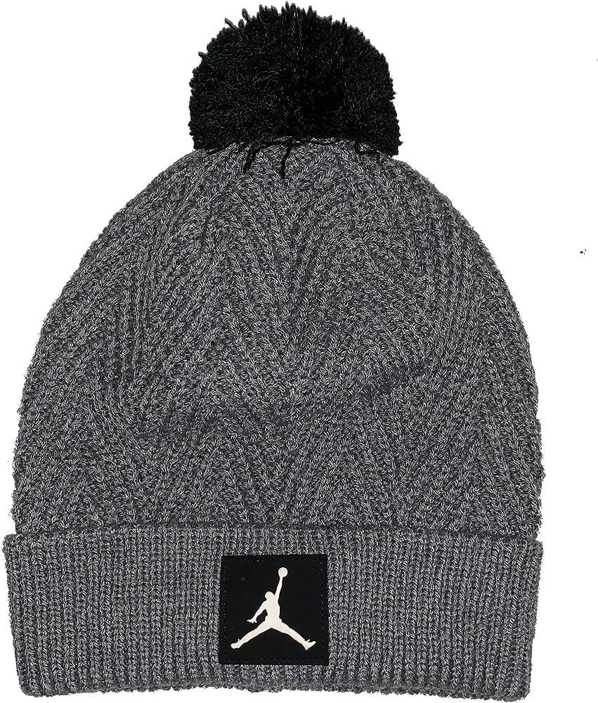 Nike Jordan Jumpman Knit Pom - Gorro de Punto (Talla 8/20): Amazon ...