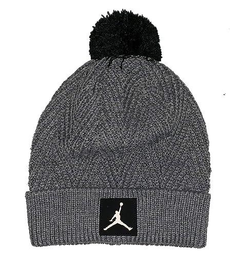 e58c775d540e5f Amazon.com: NIKE Jordan Jumpman Knit Pom Beanie Size; 8/20: Sports &  Outdoors