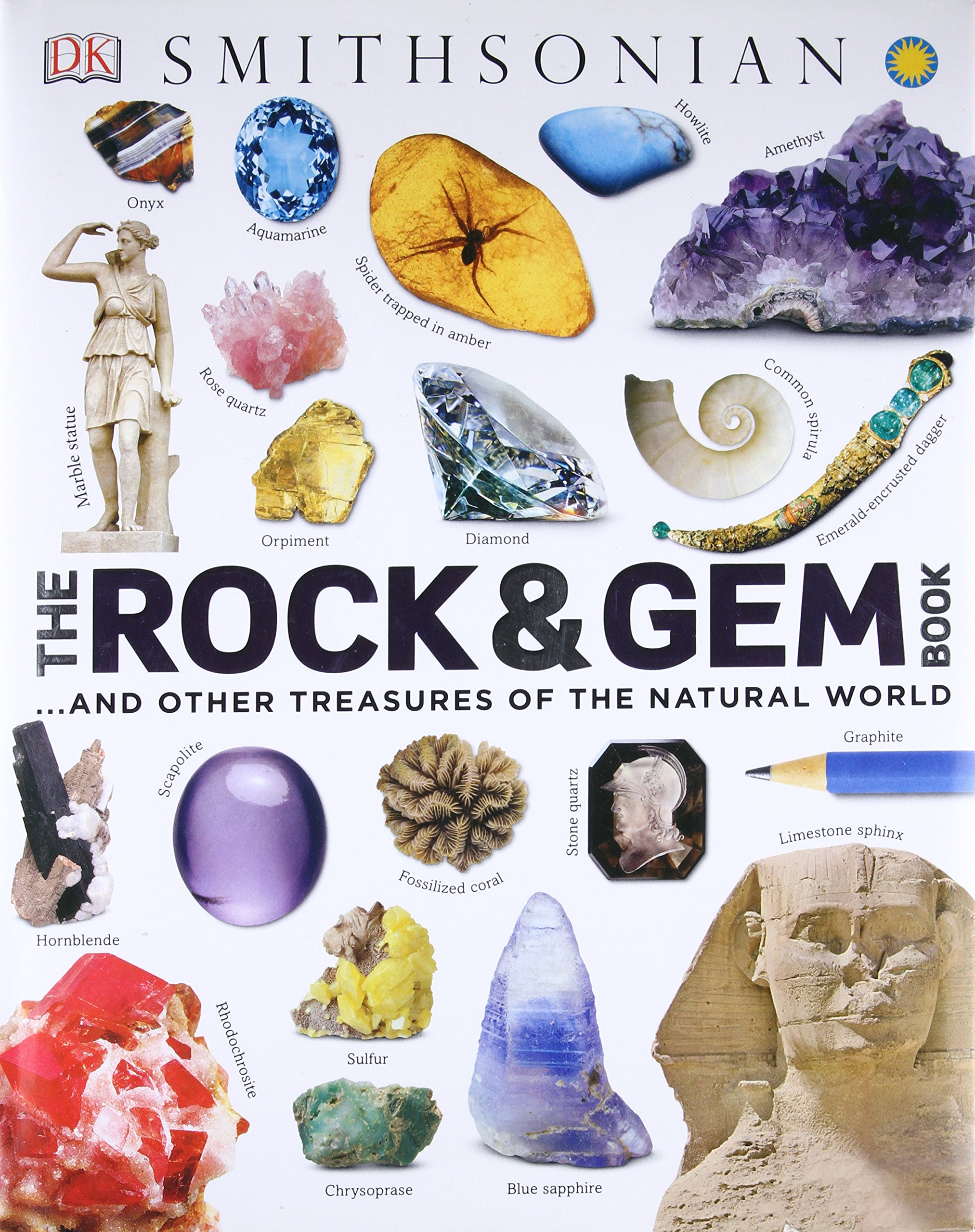 Rock Gem Book Treasures Natural