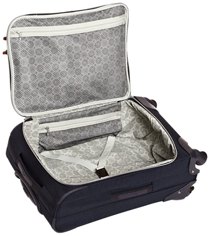 Amazon.com | Kipling Youri Spin 55, Hand Luggage, 55 cm, 33 liters, Blue (True Blue) | Carry-Ons