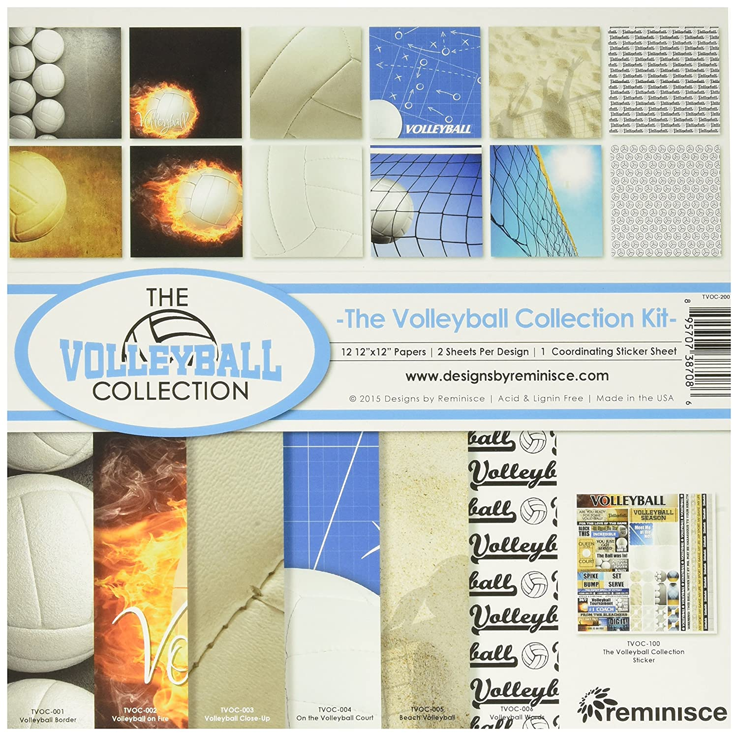 Reminisce The Volleyball Collection Kit