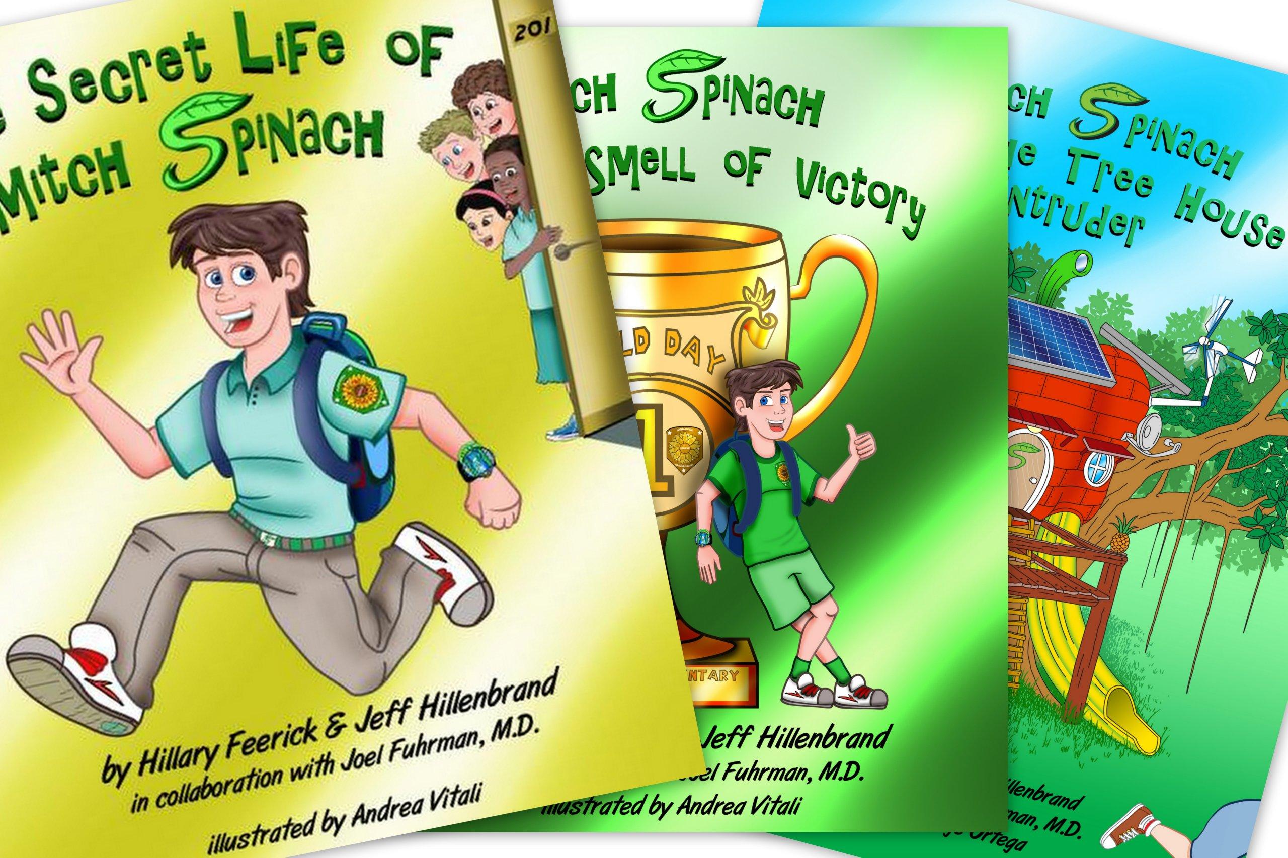 Read Online Mitch Spinach Children's Book 3 Book Package (Special Price) pdf epub