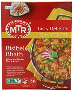 MTR Bisibele Bhath, 10.58 Ounce Boxes (Pack of 10)