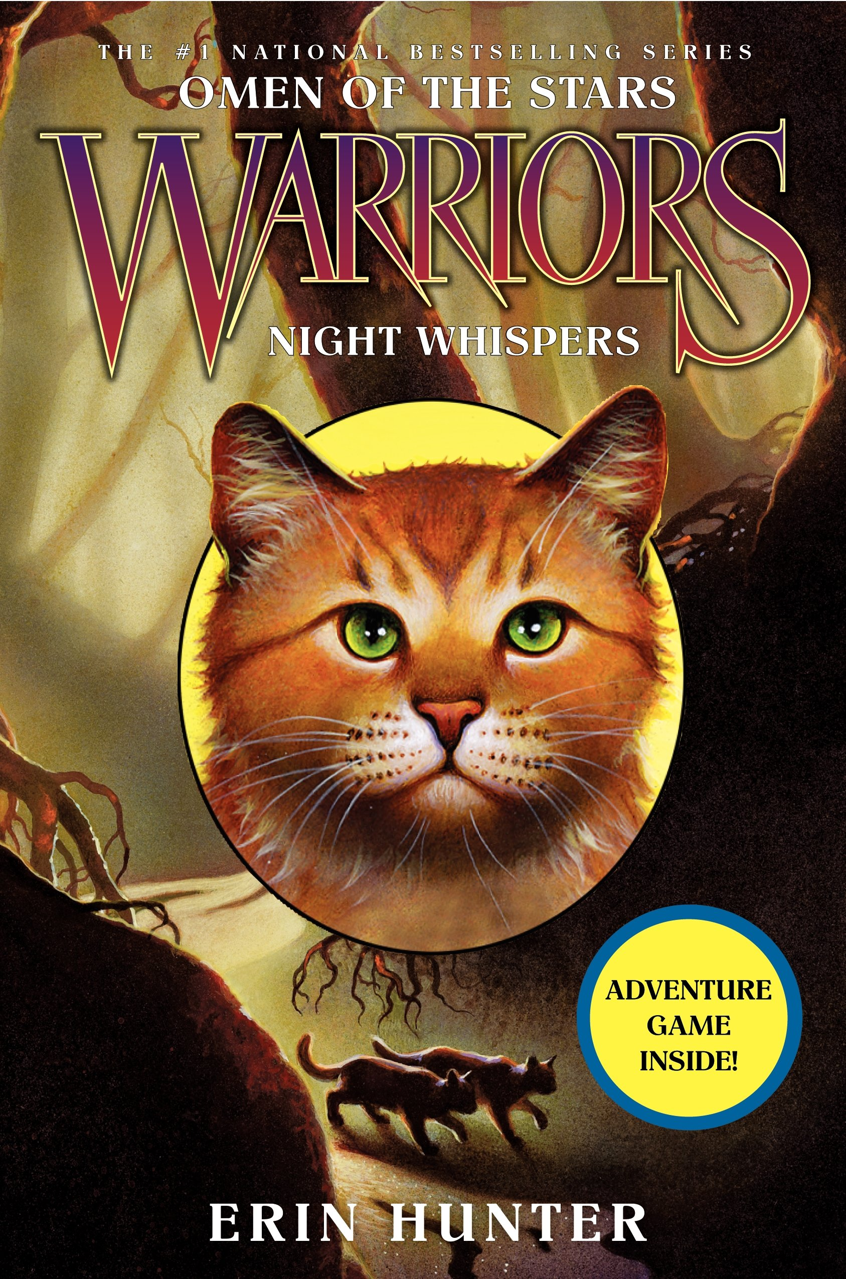 Warrior Cats Series 4: Omen Of The Stars 6 Books Box Set Collection By Erin  (the Fourth Apprentice, Fading Echoes, Night Whispers, Sign Of The Moon,