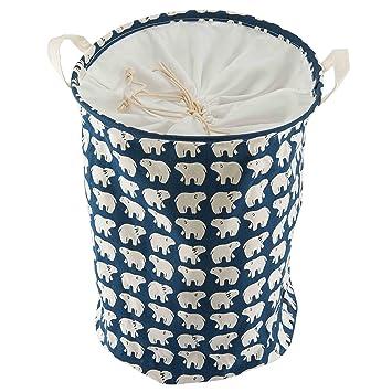Amazon Com Foldable Laundry Hamper Basket Waterproof For