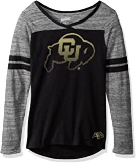 Large NCAA Stanford Cardinal Juniors Outerstuff Relaxed 3//4 Raglan Thermal Top Team Color 11-13
