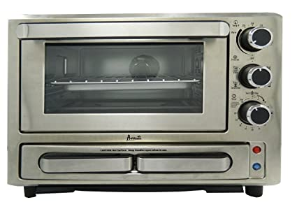 Avanti Products PPO84X3S-IS Pizza Oven, Stainless Steel