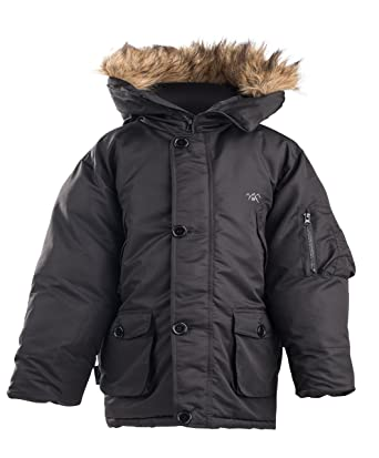 b1f8c5ad5 Amazon.com  The Polar Club Boys  Canada Parka Winter Coat W ...