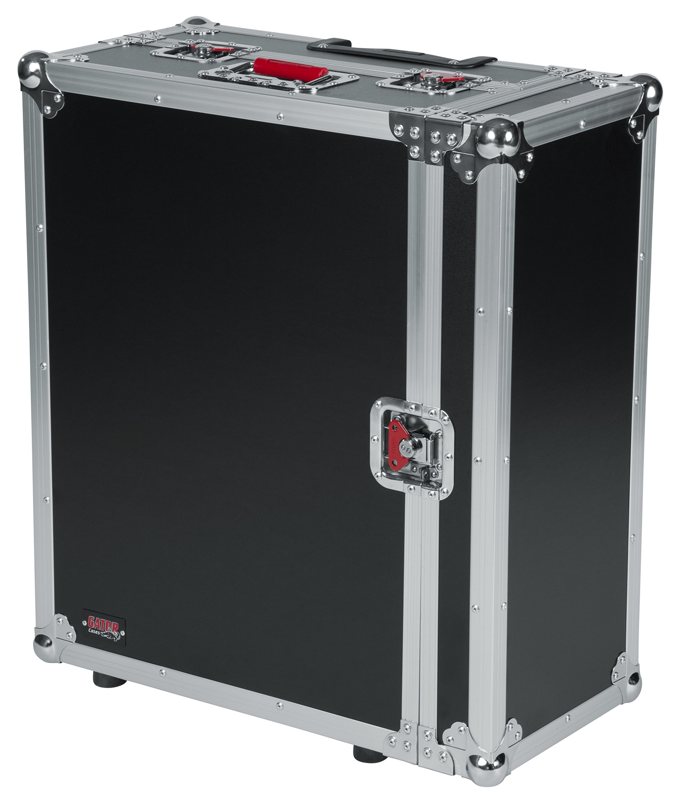 Gator Cases G-TOUR ATA Style Road Case - Custom Fit for Behringer X32 Compact with Built in Wheels and Retractable Tow Handle; (G-TOUR X32CMPCTW)