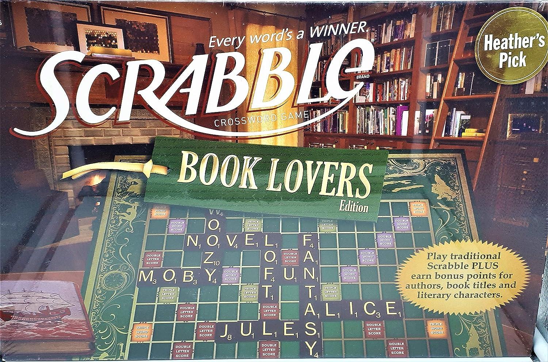 Book Lovers Scrabble Board Game: Book Lovers Scrabble: Amazon.es: Videojuegos