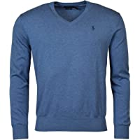 Ralph Lauren Polo Mens Pima Cotton V-Neck Sweater