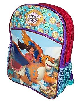 2f9e09e7324 Happy Styles Colorido Disney Princesa Elena de Bolso de Escuela Avalor  Mochila