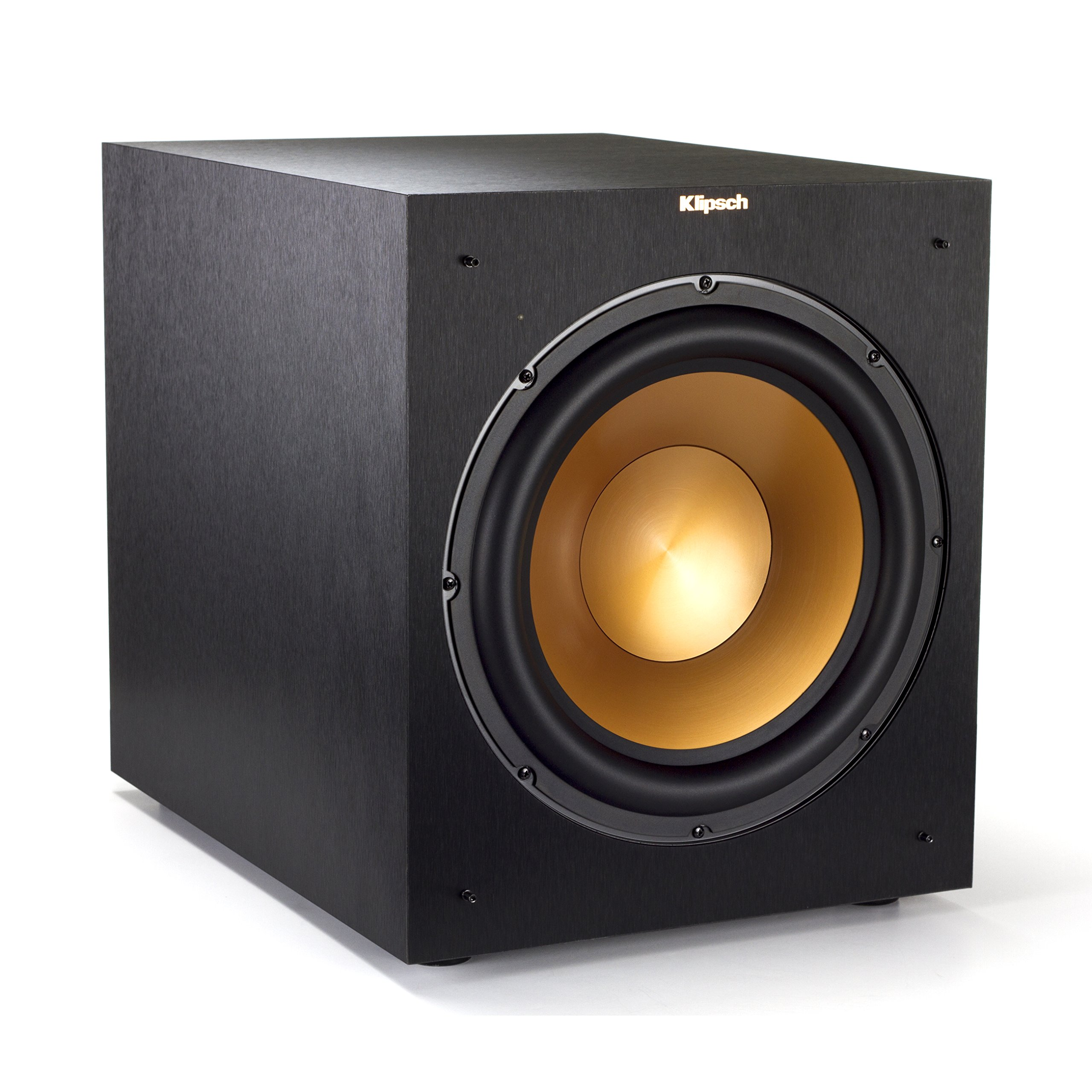 Klipsch 12'' 400 Watts Wireless Subwoofer Brushed Black Vinyl (R-12SWi) by Klipsch
