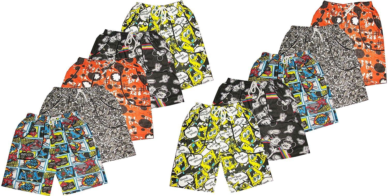 kids boys girls unisex printed shorts/nicker/half pants/bermudas