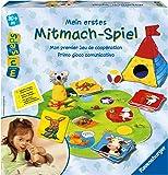 """Ravensburger ministeps 04621 - Gioco per i piccolo """"Mein erstes Mitmach-Spiel"""" [lingua tedesca]"""