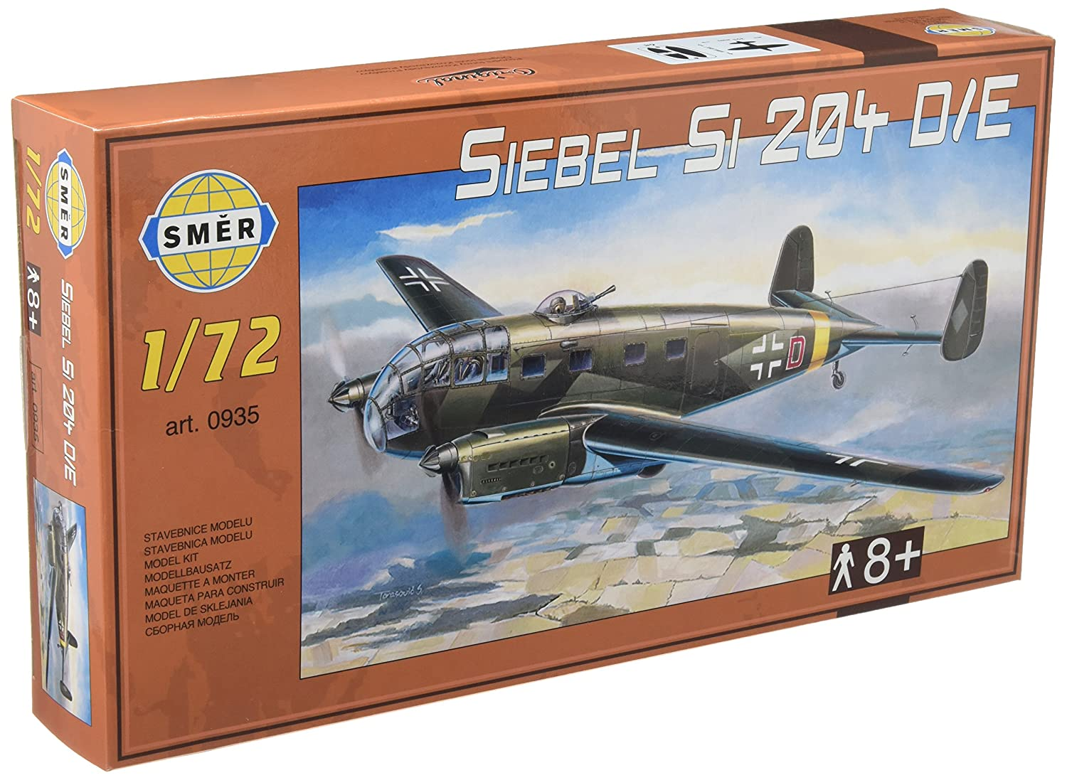 Amazon.com: Este revisión 1/72 Alemania Siebel si-si204d/E ...