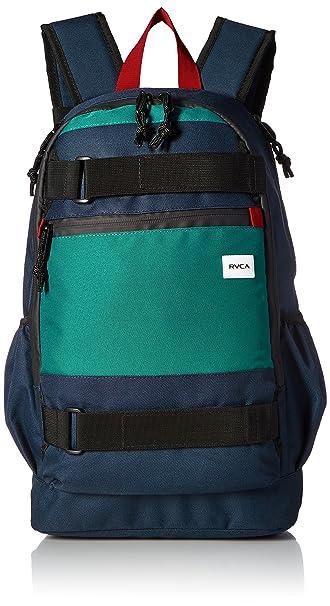 RVCA Hombres Push Skate Delux Backpack Mochilas - Verde -: Amazon.es: Ropa y accesorios