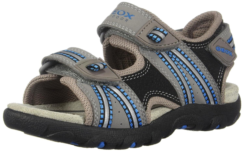 Geox Jungen Jr Sandal Strada A Open Toe Multifunktions-Sandalen mit perforierter Sohle für maximale Atmungsaktivität und Komfort J4224A0CE14C0432