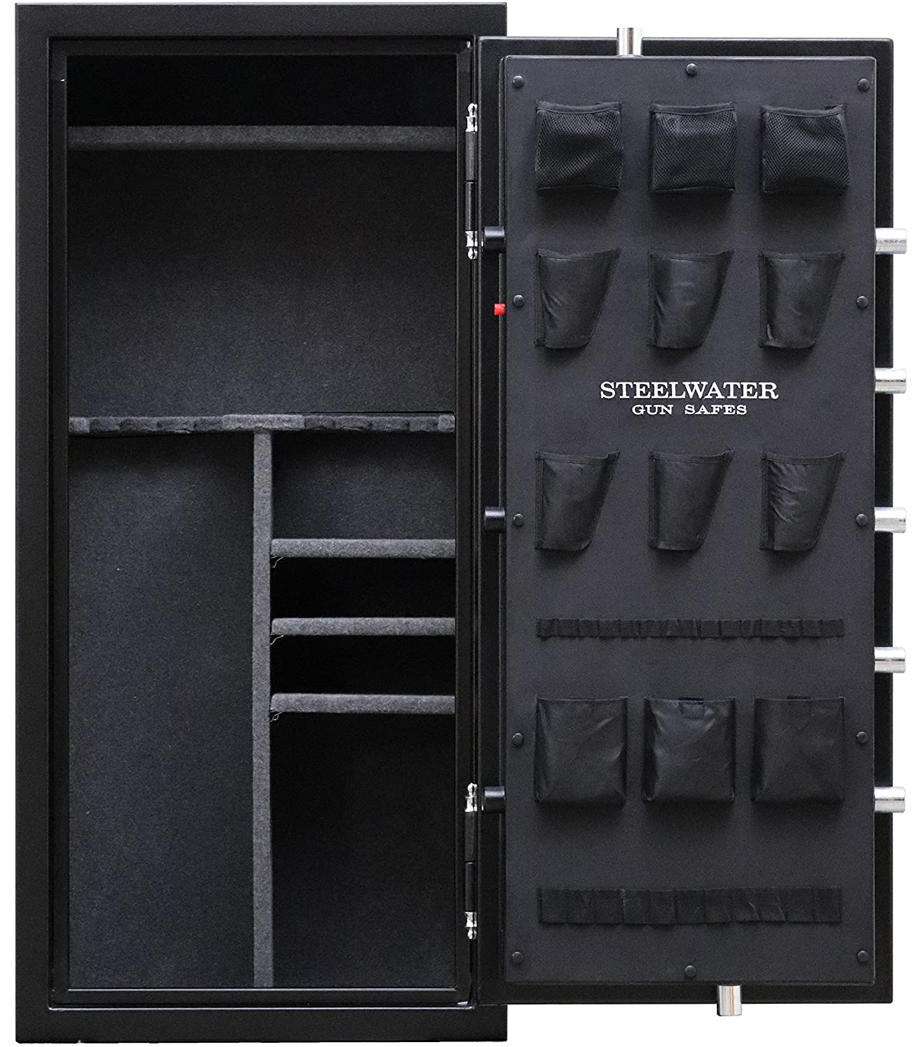 Steelwater Heavy Duty 20 Long Gun safe open