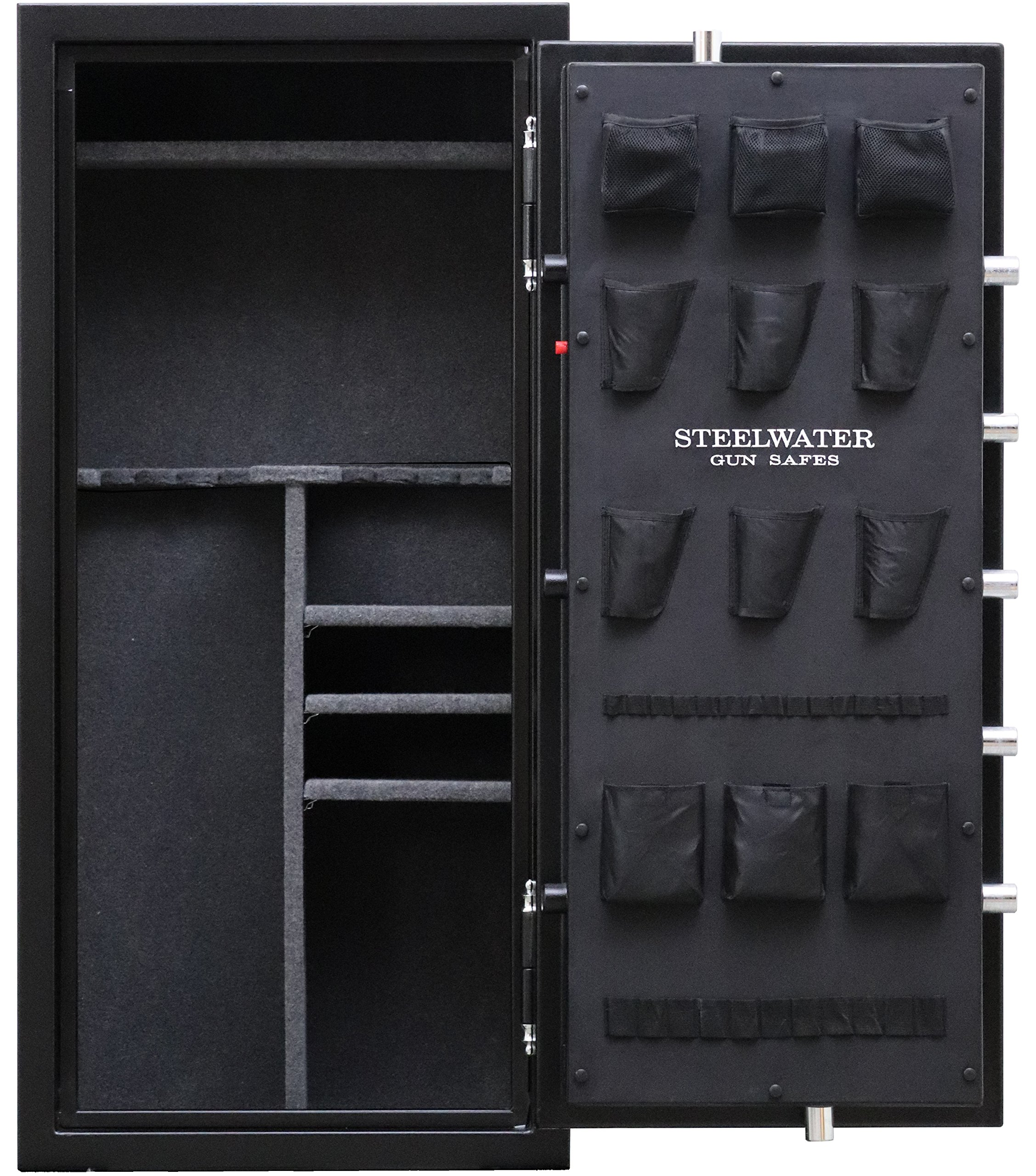 New and Improved Steelwater Heavy Duty 20 Long Gun Fire Protection for 60 Minutes AMSW592818-blk by Steelwater Gun Safes (Image #3)