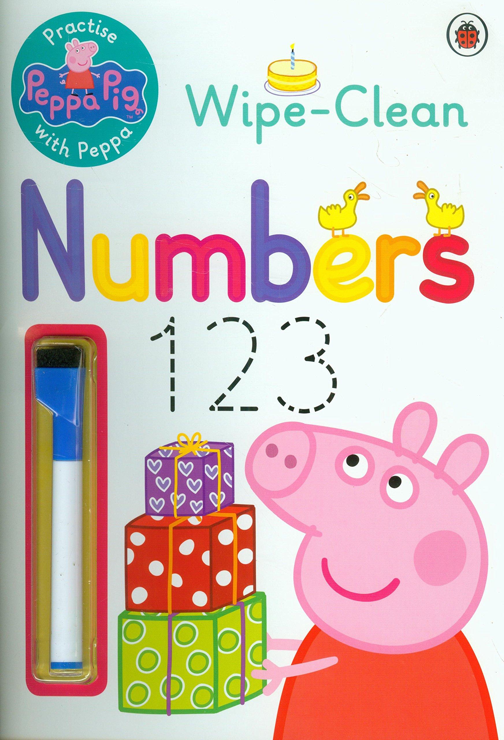 Peppa Pig: Practise with Peppa: Wipe-Clean Numbers