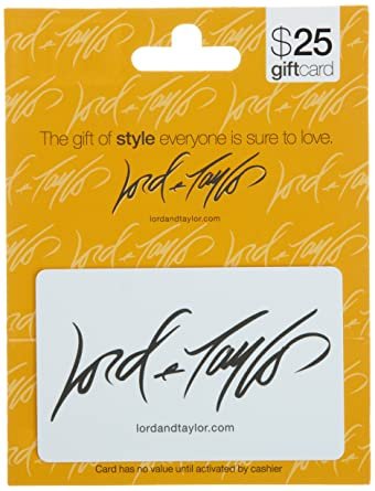 Amazon lord taylor gift card 25 gift cards lord taylor gift card 25 negle Choice Image