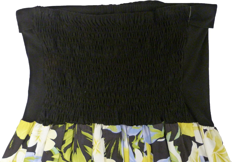 RJC Womens Hawaiian Jungle Flower Knit Top Sundress