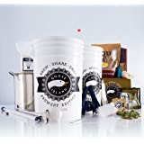 Goose Island Beer Brewing Equipment Starter Kit - Brew Share Enjoy Brewery Edition Goose Island Porter Recipe - Includes Brew Kettle