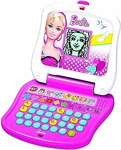 Oregon Scientific Barbie Junior Laptop - White And Pink